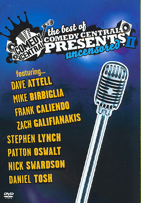 BEST OF COMEDY CENTRAL PRESENTS II BY ATTELL,DAVE (DVD)